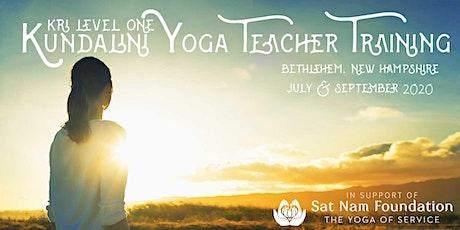 KRI Level 1 Kundalini Yoga Teacher Training 2-Module Immersion tickets