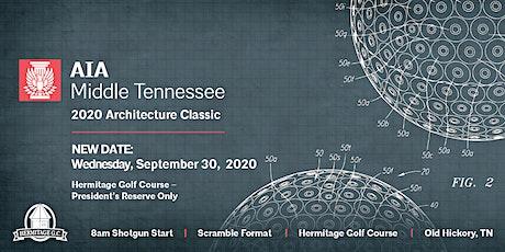 2020 Architecture Classic Golf Tournament tickets