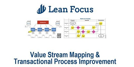 Lean Transformation Academy - How to lead VSM / TPI Kaizen (12/14/20-12/16/20) tickets