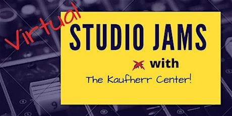 Virtual Jams with the Kaufherr Center tickets
