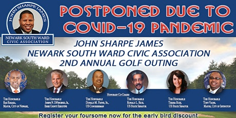 John Sharpe James Newark South Ward Civic Association (JSJNSWCA) 2nd Annual Golf Outing tickets