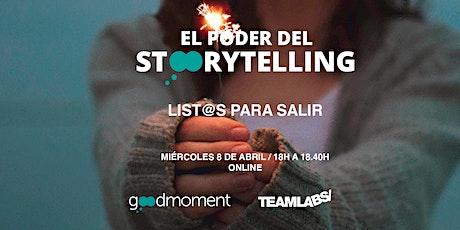 El Poder del Storytelling - List@s Para Salir (Online) tickets