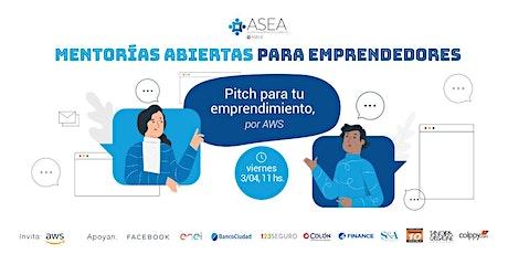 Mentorías Abiertas Online para Emprendedores  ABRIL entradas