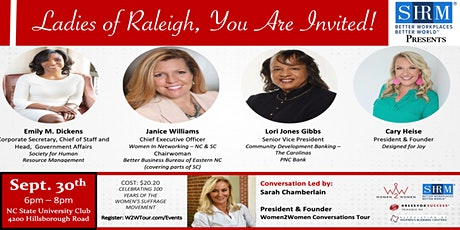 Women2Women - Raleigh, NC tickets