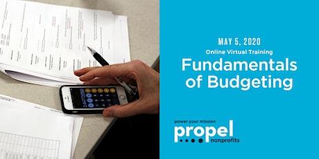 Fundamentals of Budgeting (Virtual) - May 5, 2020 tickets