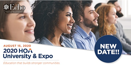 Echo 2020 HOA University & Expo tickets