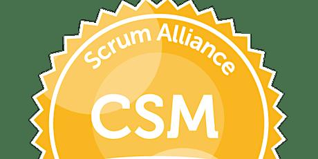 Certified Scrum Master® boletos