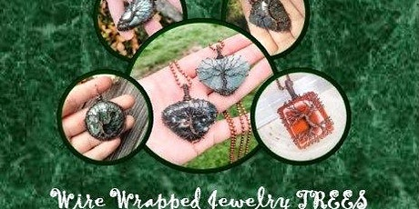DIY Jewelry Wire Wrapping:Trees tickets