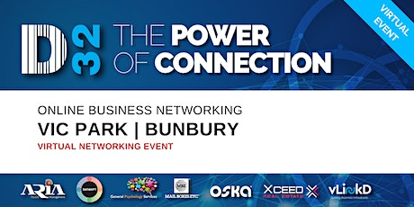 District32 Business Networking Perth – Vic Park/Bunbury - Tue 19th May tickets