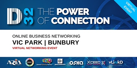 District32 Business Networking Perth – Vic Park/Bunbury - Tue 05th May tickets