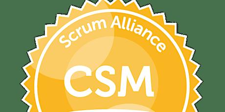 Certified Scrum Master tickets