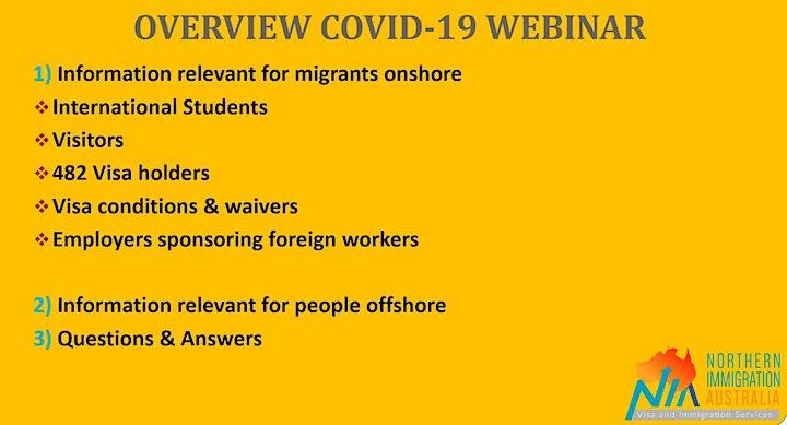 Coronavirus (COVID-19) & Australian Migration - how does it affect migrants image