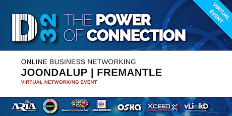 District32 Business Networking Perth – Joondalup/Fremantle - Wed 13th May tickets