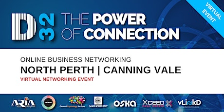 District32 Business Networking Perth – North Perth/Canning Vale - Thu 14th May tickets