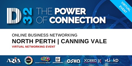 District32 Business Networking Perth – North Perth/Canning Vale - Thu 28th May tickets