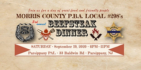 PBA Local #298, 3rd Annual Beefsteak Dinner tickets
