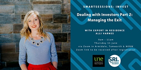 Dealing with Investors Part 2: Managing the Exit - with Alli Varnes tickets