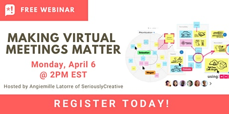 Making Virtual Meetings Matter (2) tickets
