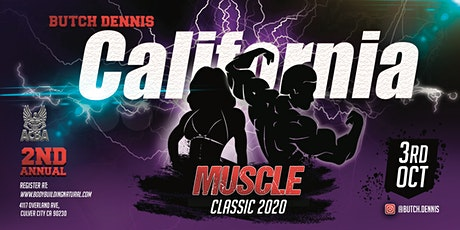 Butch Dennis California Muscle Classic 2020 tickets