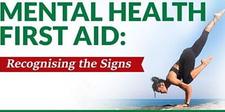 ZOOM ONLINE LIVE CLASS - Standard Mental Health First Aid Training tickets