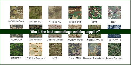 The world's best camouflage webbing suppliers exhibition tickets