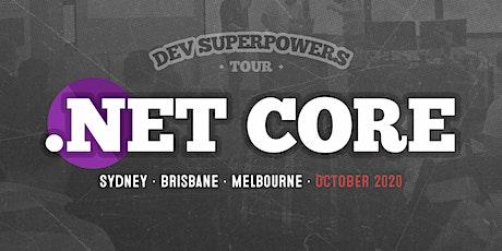 .NET Core Superpowers - Brisbane bilhetes