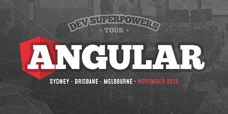 Angular Superpowers Tour - Melbourne tickets