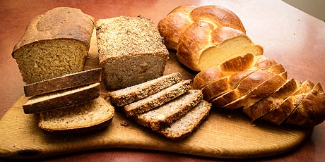 Bread baking with Doris - online Q&A session on zoom tickets