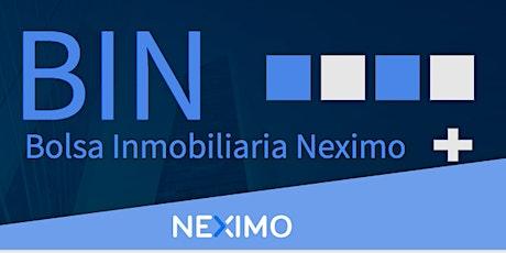 Webinar - Bolsa Inmobiliaria Neximo BIN tickets