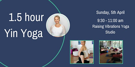 1.5 hr Yin Yoga tickets