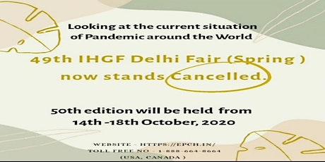 IHGF Delhi Fair Spring 2020 tickets