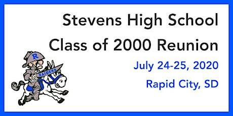 Stevens High School Class of 2000 Reunion tickets