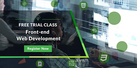 Free Trial Class: Front-end Web Development tickets