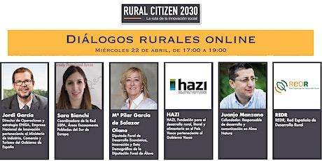 Diálogos Rurales Online - RURAL CITIZEN 2030 entradas