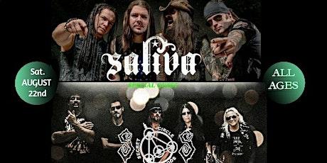 SALIVA  w/Secret Circle Society tickets