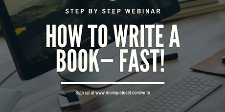 How to write a book- FAST! tickets