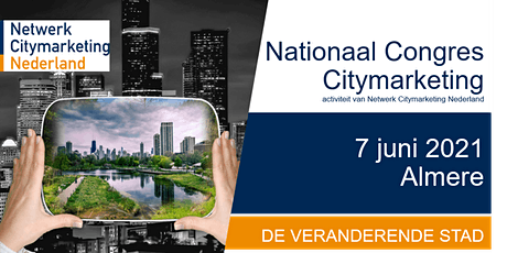 Nationaal Congres Citymarketing 2021 tickets