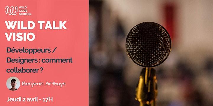 Image pour WILD TALK : Développeurs - Designers : comment collaborer ?!