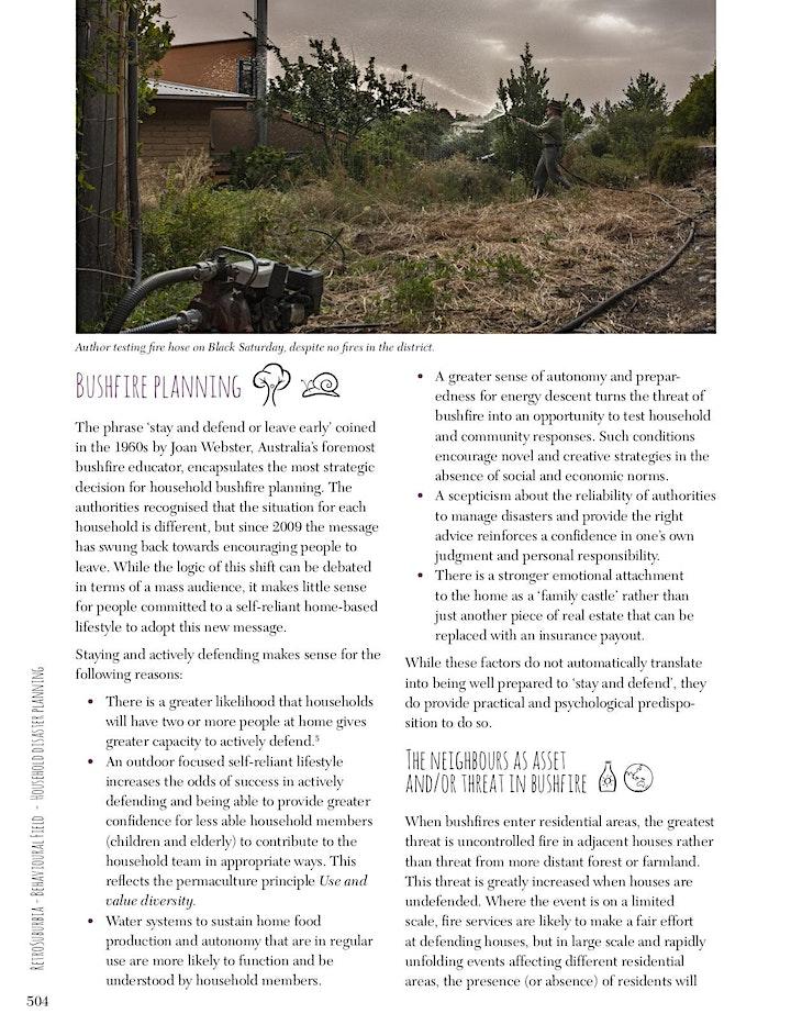 RetroSuburbia Online Booklaunch Q&A w- David Holmgren/Costa/Formidable Veg image
