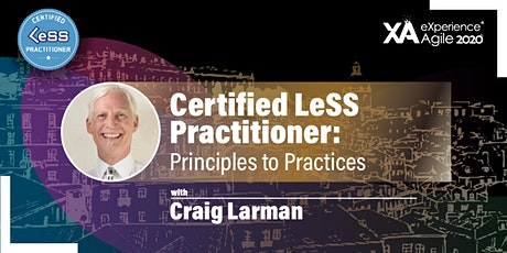 Certified LeSS Practitioner: Principles to Practices bilhetes