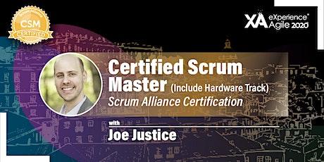 Certified ScrumMaster® bilhetes