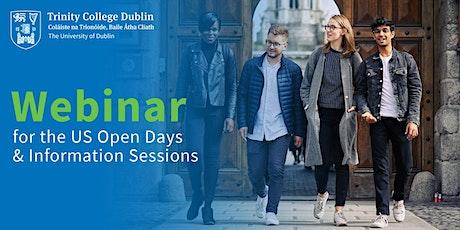 Trinity College Dublin Webinar  17.00 – 18.00 Eastern Time US Canada tickets