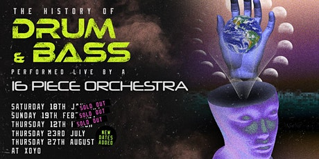 History of Drum & Bass Performed Live by a 16 Piece Orchestra tickets
