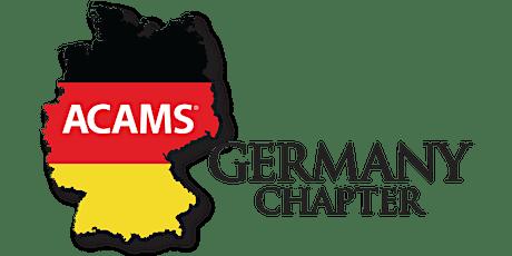 ACAMS Germany Chapter WEBINAR  am  13.05.2020 um 13:00 tickets