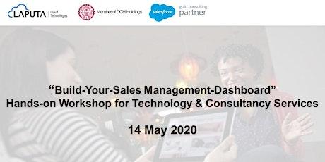 """Build-Your-Sales Management-Dashboard"" Workshop tickets"