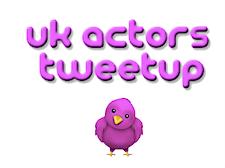 UK Actors Tweetup logo