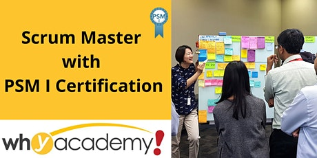 Scrum Master with PSM I Certification (SG)  tickets