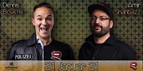 Dennis Boyette & Amir Shahbazz - Ersatztermin Tickets