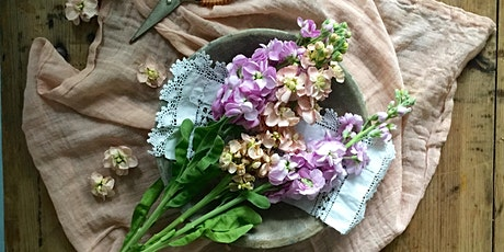 British Flowers Workshop with Carol's Garden tickets