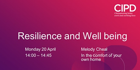 Resilience and Well being tickets